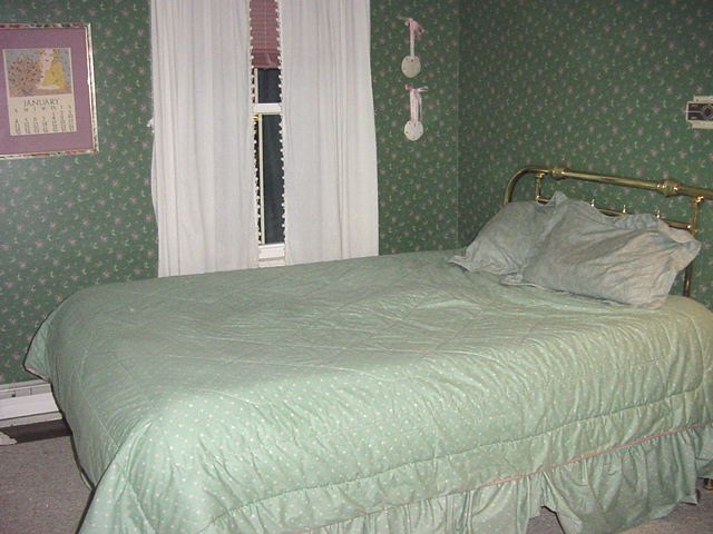 View of Green Bedroom #1